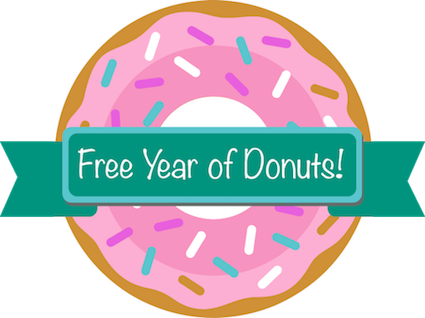 Donut Trail - Free Year of Donuts*