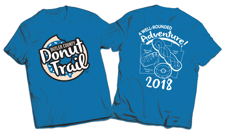 donut trail t-shirt