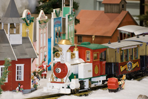 Christmas Entertrainment Junction in West Chester, OH