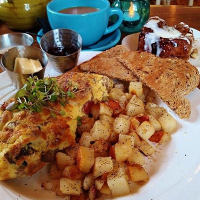 Brunch at Cozy's Cottage