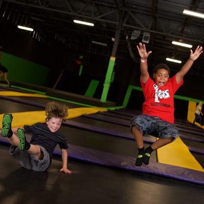 Kids at Get Air