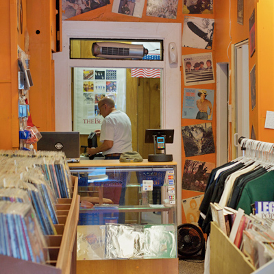 Bill Herren - Main St Vinyl owner