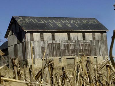 Muhlhauser Barn History West Chester Ohio
