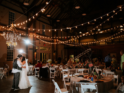 Huhlhauser Barn Wedding Interior West Chester Ohio