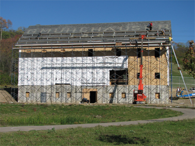 Muhlhauser Barn Construction West Chester Ohio