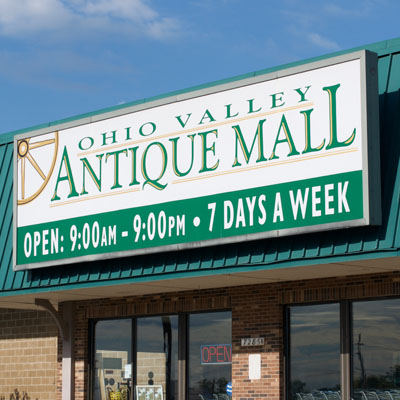 Ohio Valley Antique Mall Exterior