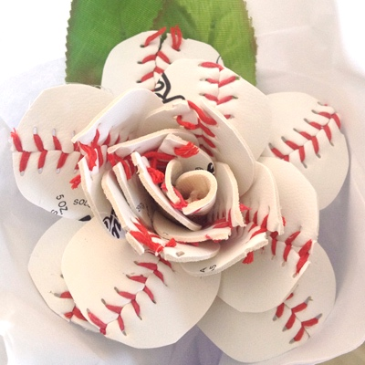 Sherry's Petals baseball flower