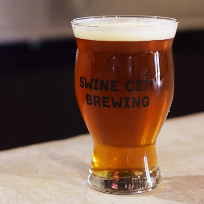 Swine City Brewing Beer