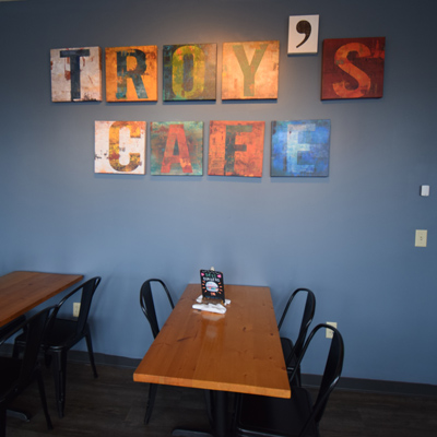 Troy's Wall Art Sign