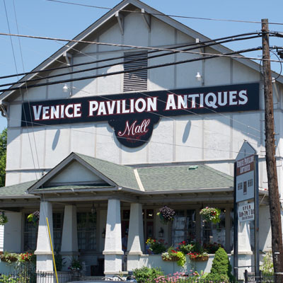 Venice Pavillion Antique Mall Exterior