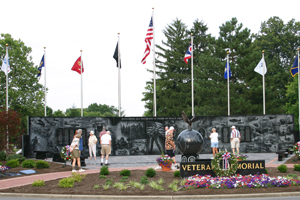 veterans memorial middletown oh