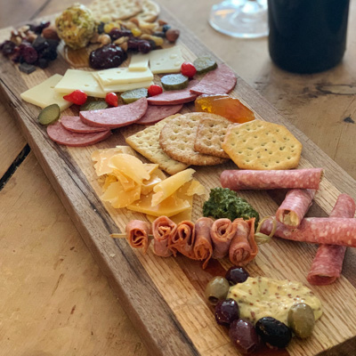 West Central Wine charcuterie