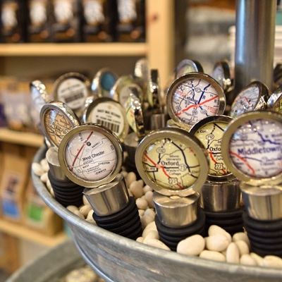 Celebrate Local Liberty Wine Stoppers
