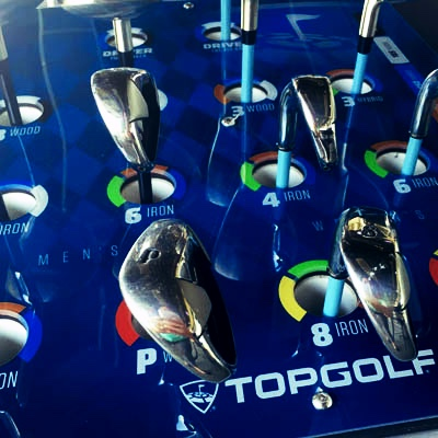 Clubs at Topgolf West Chester