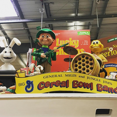 Jungle Jim's Fairfield Cereal Bowl Band