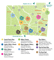 Donut Trail Map