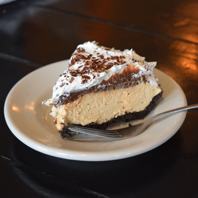 Troy's Peanut Butter Pie
