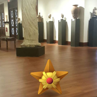 Pokemon Ancient Sculpture Museum