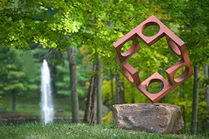 Pyramid Hill Sculpture Park in Hamilton Ohio