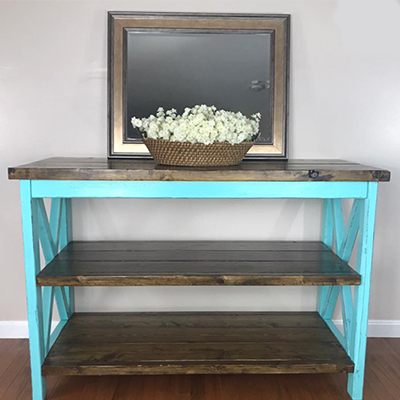 Rustic Home Entry Table