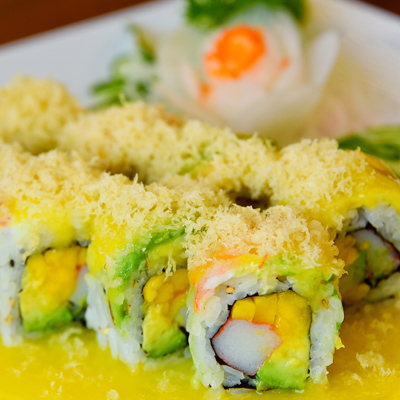 Sunshine Roll from Sushi House