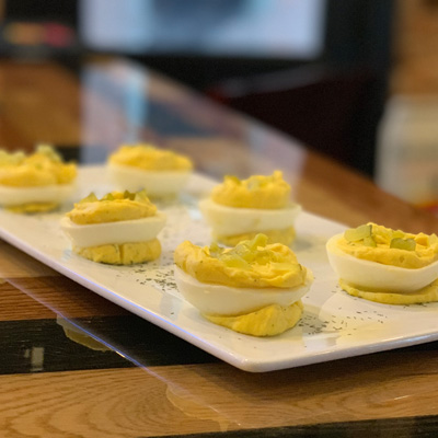 The Swire Inn deviled eggs