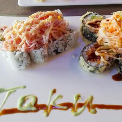 Taku Japanese Steakhouse Sushi