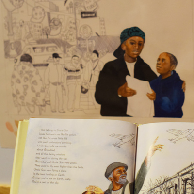 Telling a People's Story book and picture