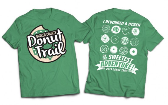 2019 Butler County Donut Trail T-Shirt