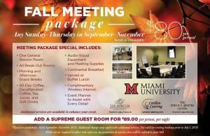 The Marcum Hotel & Conference Center at Miami University