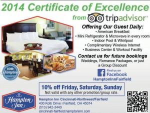 Hampton Inn Cincinnati-Northwest - Fairfield