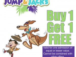 Jump & Jacks 2015 Coupon