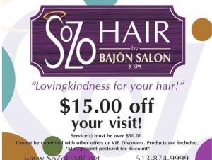 Sozo Hair by Bajon Salon & Spa