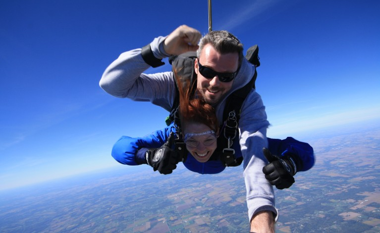 Start Skydiving in Middletown, Ohio