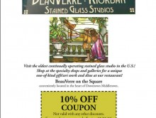 BeauVerre Riordan Stained Glass Studio - Image