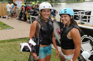 Wakeboarding at Fairfield's Wake Nation